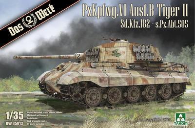 PzKpfwg. VI Ausf.B Tiger II Sd.Kfz.182 - s.Pz.Abt.505
