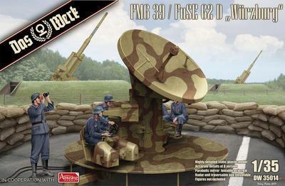 "FMG 39 / FuSE 62 D ""Würzburg"" German WW2 Gun Laying Radar - 1"