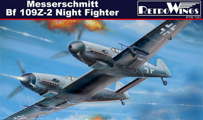 Messerschmitt BF 109Z-2 Night Fighter
