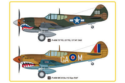 P-40M Kitty Hawk