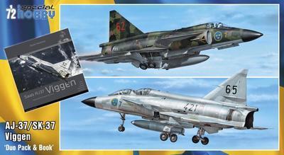 """SAAB AJ-37/Sk37 Viggen """"Duo Pack & Book"""" - 1"""