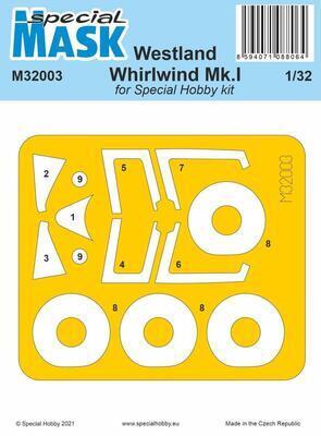 Westland Whirlwind Mk.I Mask