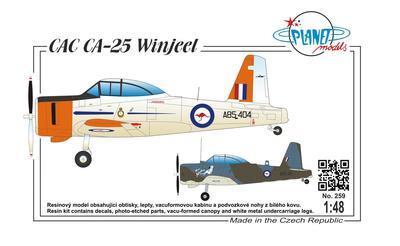 CAC CA-25 Vinjeel  - 1