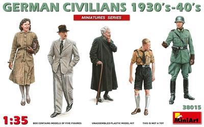 German Civilians  1930´s-40´s (5fig.)
