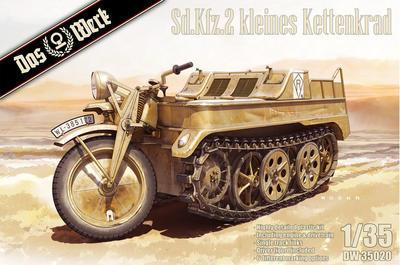 Kleines Kettenkraftrad Sd.Kfz.2 - 1