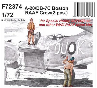 A-20/DB-7C Boston RAAF Crew , resin