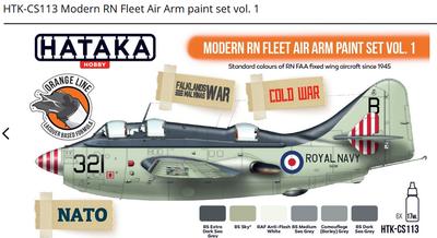 Modern RN Fleet Air Arm paint set vol. 1 , sada barev - 1
