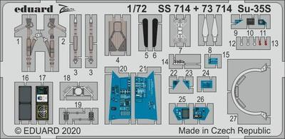 Su-35S 1/72  lept