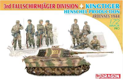 3rd Fallschirmjäger Division + Kingtiger Henschel Turret