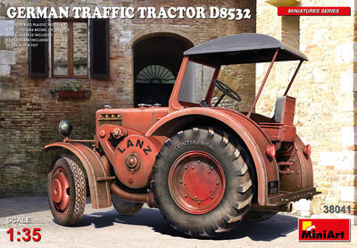GERMAN TRAFFIC TRACTOR D8532 - 1