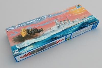 Italian Navy Battleship RN Littorio 1941 - 1