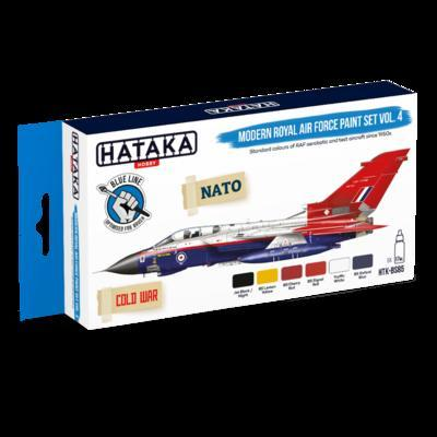 Modern Royal Air Force Paint Set Vol. 4, sada barev - 1