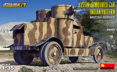 AUSTIN ARMOURED CAR INDIAN PATTERN. BRITISH SERVICE. INTERIOR KIT - 1