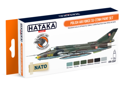 Polish Air Force SU-22M4 Paint Set, sada barev - 1