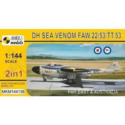 Sea Venom FAW.22/53/TT.53 Far East & Australia (2in1)