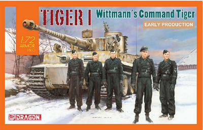 Tiger I Early Production, Wittmann's Command Tiger