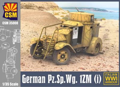 German Pz.Sp.Wg. 1ZM(i), Armoured Car 1ZM 1935-1944