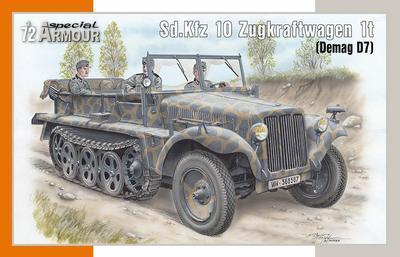 Sd.Kfz 10 Zugkraftwagen 1t (Demag D7) - 1