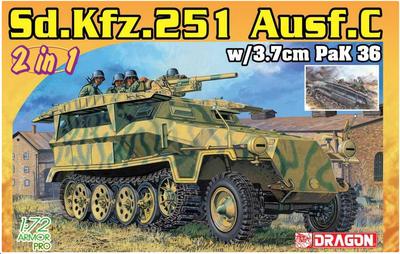 Sd.Kfz.251 Ausf.C w/3.7 PaK 36