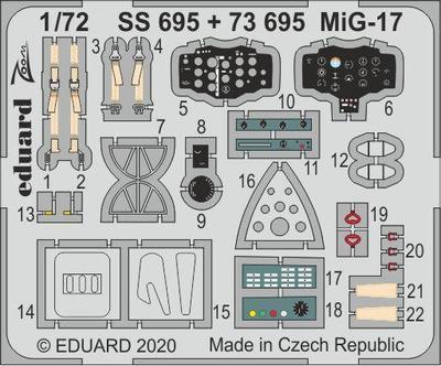 MiG-17 1/72   lept