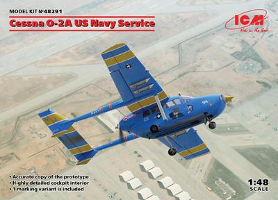 Cessna O-2A US Navy Service - 1