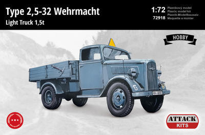 Type 2,5-32 Wehrmacht Light Truck 1,5 t (Hobby Line 2) - 1
