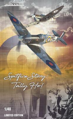 SPITFIRE STORY: Tally ho! 1/48 - 1