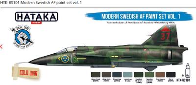Modern Swedish AF paint set vol. 1 - 1
