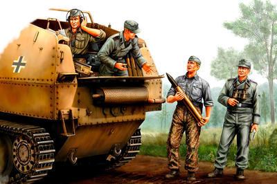 German SPG Crew 4 fig.