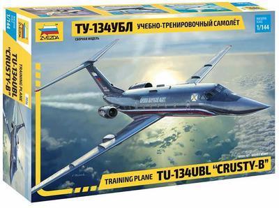 """Training Plane TU 134 UBL """"Crusty - B"""" - 1"""
