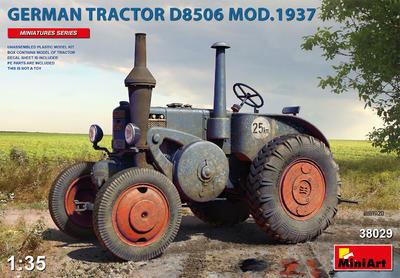 GERMAN TRACTOR D8506 MOD. 1937 - 1