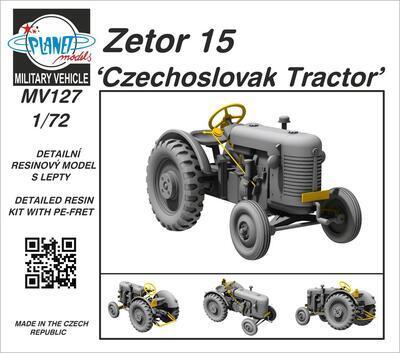 Zetor 15 'Czechoslovak Tractor'  - 1