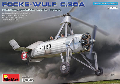 FOCKE-WULF FW C.30A HEUSCHRECKE. LATE PROD - 1