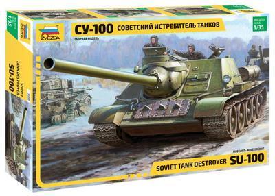Soviet S.P. Gun SU 100