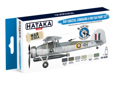 RAF Coastal Command & RN FAA Paint Set, sada barev - 1