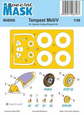 Tempest Mk.II/V Mask