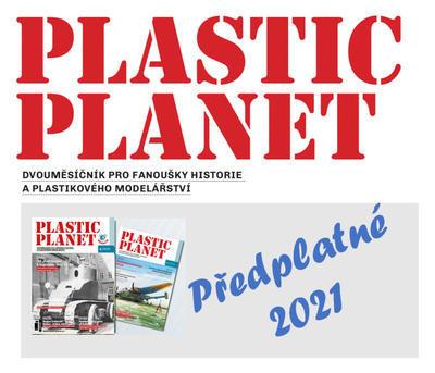 Předplatné Plastic Planet, ročník 2021 - časopis