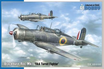 """Blackburn Roc. Mk.I """"FAA Turret Fighter"""""""