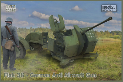 FLAK  38 German AA Gun (2 in box)