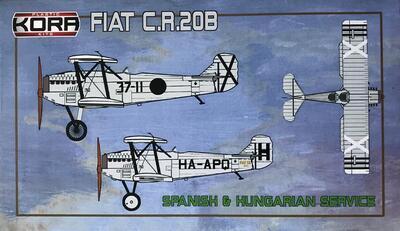 FIAT C.R.20B Spanish & Hunagrian service