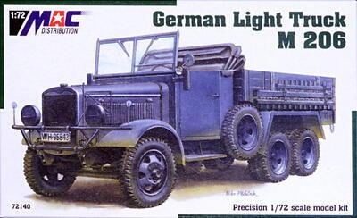 1/72 German Light Truck M 206