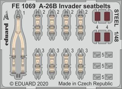A-26B Invader upínací pásy OCEL lept