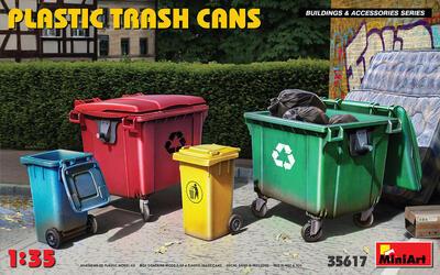 PLASTIC TRASH CANS - 1