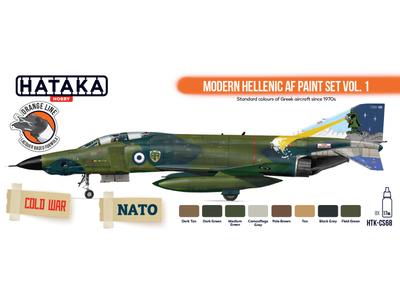 Modern Hellenic AF Paint Set VOL. 1, sada barev
