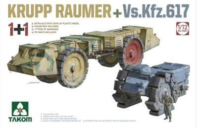 Krupp Räumer + Vs.Kfz. 617