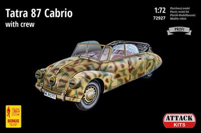 Tatra 87 Cabrio with crew