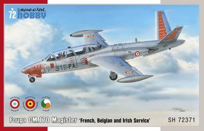 Fouga CM.170 Magister 'French, Belgian and Irish Service'