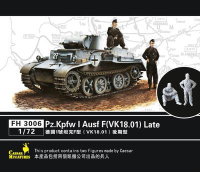 Pz.Kpfw I Ausf F (VK 18.01) Late - 1