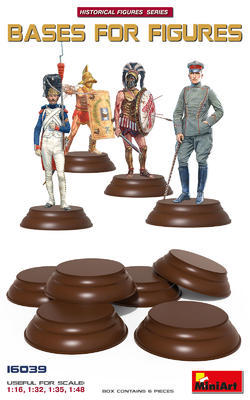 Bases for Figures 1:16, 1:32, 1:35, 1:48, 6pcs
