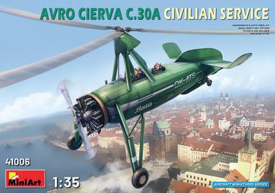 AVRO Cierva C.30A Civilian Service: OK-ATS Baťa - 1